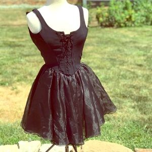 80's Vintage Betsy Johnson Runway Corset Dress